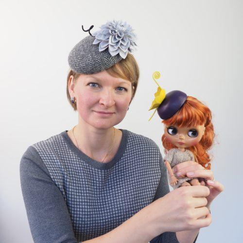 Светлана Фолкнер шляпки для кукол